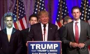 Donald Trump faz primeiro comício sem gerente de campanha