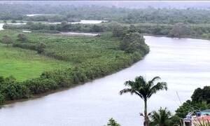 Seca faz mar avançar sobre rios no ES e água chega salgada nas casas