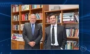 Presidente da Transparência Internacional visita juiz Moro