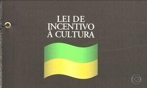 Lei Rouanet foi criada em 91 para o patrocínio de eventos culturais