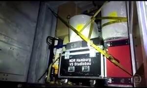 Caminhão com equipamentos de TVs alemãs é roubado no Rio