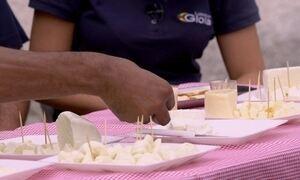 Hoje é dia de pizza: a muçarela fior de latte