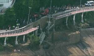 MPF denuncia 14  pessoas pela queda da ciclovia