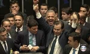 Rodrigo Maia é eleito como o novo presidente da Câmara dos Deputados