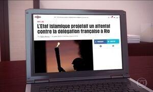 Imprensa francesa diz que Estado Islâmico planeja ataque na Olimpíada