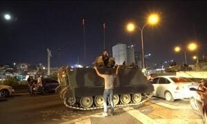 Governo de Erdogan, na Turquia, resiste à tentativa de golpe militar