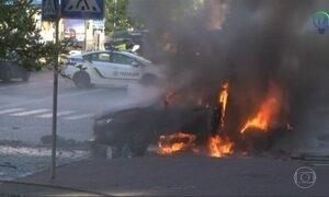 Na Ucrânia, bomba em carro mata jornalista crítico de Putin