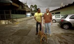Hoje é dia de passear com o cachorro: 'cãominhada' da adoção