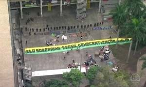 Manifestantes desocupam prédio do Ministério da Cultura no RJ