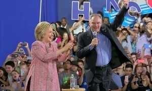 Começa convenção democrata que deve confirmar Hillary como candidata