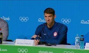 Michael Phelps e Katie Ledecky são destaques da natação americana