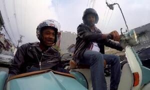 Hoje é dia de andar de moto: apaixonados por scooters