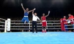 Robson Conceição vence cubano Jorge Alvarez e vai à final no boxe