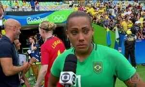 Brasil é eliminado pela Suécia nos pênaltis no futebol feminino