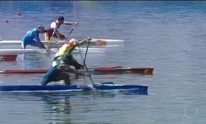 Isaquias Queiroz disputa o ouro nos 200m da canoagem
