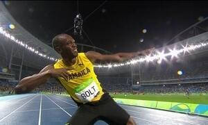 Usain Bolt é de novo tricampeão olímpico