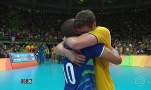 Vôlei masculino conquista o tricampeonato olímpico