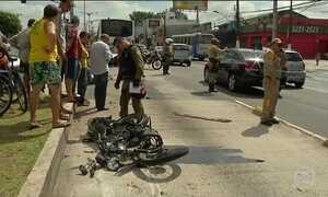 Acidentes com motos crescem e no PA hospitais não dão conta de vítimas