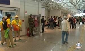 Movimento de saída após Olimpíada não para no Aeroporto do Rio