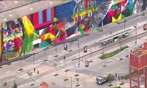 Grafite no Boulevard Olímpico entra para o livro dos recordes