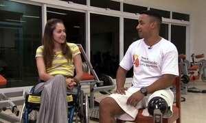 Hoje é dia de Paralimpíada: Reabilitação
