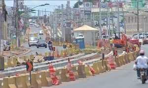 VLT prometido para Copa vira esqueleto abandonado em Cuiabá