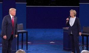 Hillary e Trump se preparam para o último debate antes da eleição