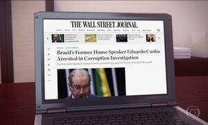 Prisão de Eduardo Cunha é destaque na imprensa internacional