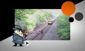 Detetive Virtual investiga vídeo em que homem quase é atropelado por trem