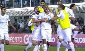 Santos vence o Palmeiras e Flamengo empata