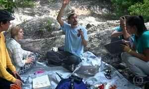 Alunos viram pequenos cientistas na reserva de Calakmul, no México