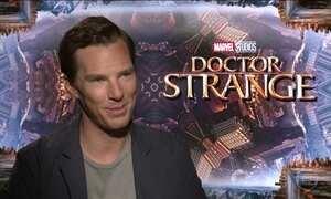 Benedict Cumberbatch conta como foi interpretar o 'Dr. Estranho'