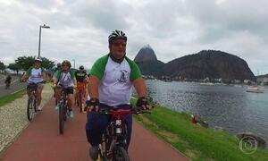 Professor perde 30 quilos e supera a depressão após começar a pedalar