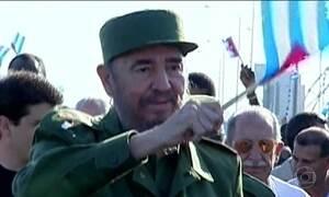 Fantástico mostra trajetória do líder cubano Fidel Castro