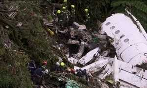 Colômbia diz que recebeu informação diferente sobre voo da LaMia