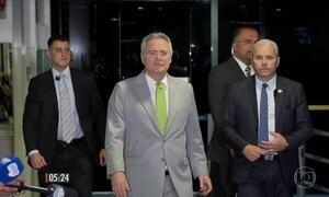 Renan Calheiros é afastado da presidência do Senado