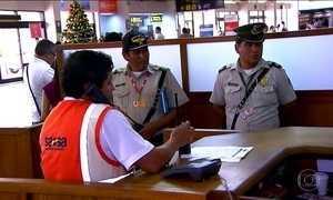 MP e polícia da Bolívia fazem operação em aeroporto e na LaMia