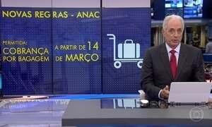 ANAC libera empresas de aviação para cobrar por bagagens em voos