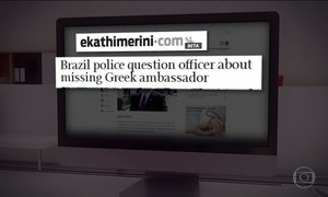 Principais jornais da Grécia noticiam morte de embaixador no Rio