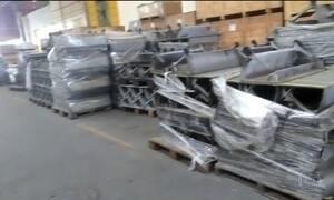 Escadas rolantes novas deterioram à espera de obra atrasada do metrô de SP