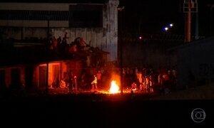 Presídio de Alcaçuz vive mais um dia de violência e desordem