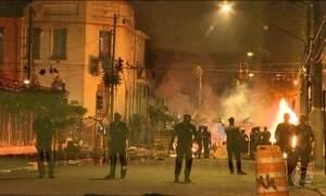 Na Cracolândia de São Paulo, a madrugada foi de violência