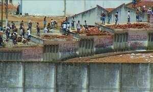 Facções rivais entram em confronto de novo no presídio de Alcaçuz
