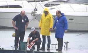 Peritos resgatam gravador de voz do avião que caiu em Paraty