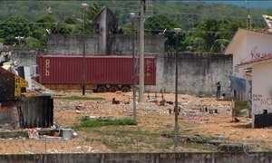 Polícia entra em Alcaçuz para instalar barreira que vai separar presos rivais