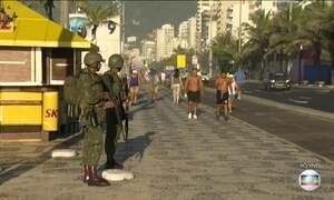 Segurança do Rio tem reforço de 9 mil militares das Forças Armadas