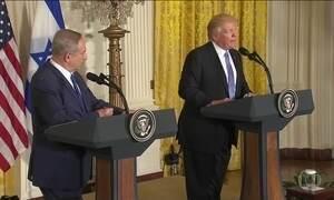 Trump contraria opinião histórica dos EUA sobre Israel e Palestina