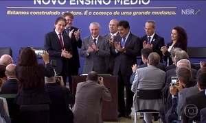 Novo ensino médio brasileiro é sancionado pelo presidente Temer