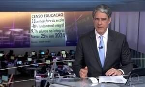 Censo mostra que Brasil está longe da meta para o ensino básico