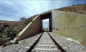 Obra da ferrovia Transnordestina se arrasta há dez anos